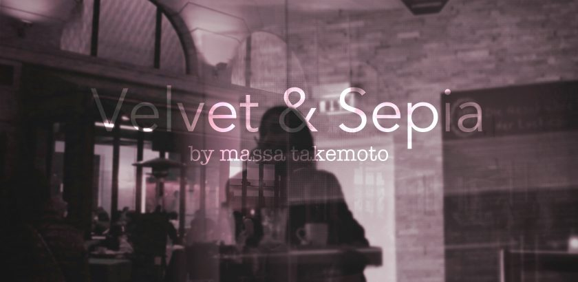 massa takemoto: Velvet & Sepia (single)